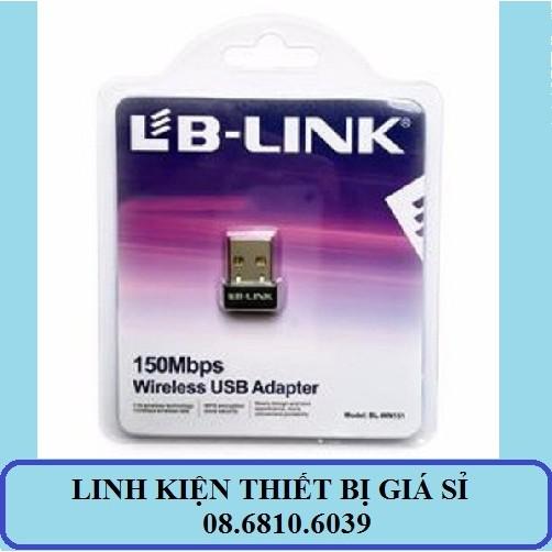(Nhập mã ELCLNO giảm thêm 5%) USB thu sóng Wifi siêu nhỏ LB-Link 150M - 2995124 , 234768842 , 322_234768842 , 120000 , Nhap-ma-ELCLNO-giam-them-5Phan-Tram-USB-thu-song-Wifi-sieu-nho-LB-Link-150M-322_234768842 , shopee.vn , (Nhập mã ELCLNO giảm thêm 5%) USB thu sóng Wifi siêu nhỏ LB-Link 150M