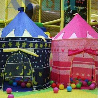 lều công chúa, lều hoàng tử cho bé vui chơi