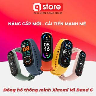 Đồng hồ thông minh Xiaomi Mi Band 6, Vòng đeo tay Miband 6 theo dõi sức khỏe, luyện tập Chính Hãng Giá Rẻ