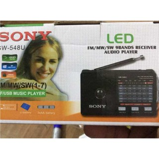 Đài radio SW-548 đọc USB, thẻ nhớ, đèn LED thumbnail