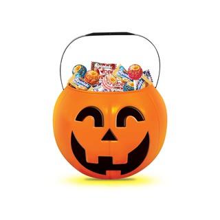 Hình ảnh [Mã GRO1PVM14 giảm 10% đơn 150K] Kẹo Chupa Chups Alpenliebe Halloween (Phiên Bản Hộp Bí Ngô) 460g/hộp-1