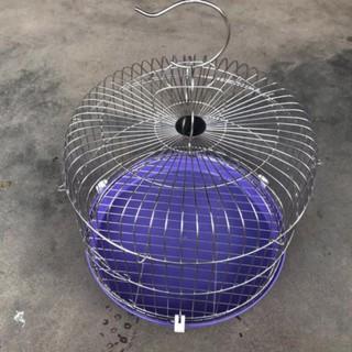 ( Hót) Lồng Cu Gáy INox siêu bền giá rẻ 35x38cm - lồng chim cu gáy thumbnail