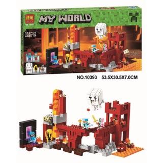 Lego my world minecraft bela 10393/ lele 79147
