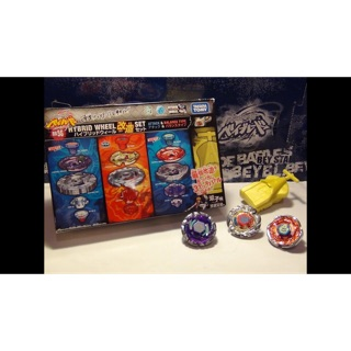 "Takara Tomy Con quay Metal Fight Beyblade BB56 Hybrid Wheel Customize Set ""Attack&Balance"""
