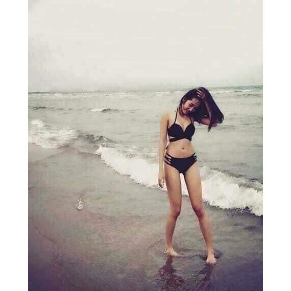 Bikini 2 mảnh chéo đen ( Ảnh chụp thật từ khách) | WebRaoVat