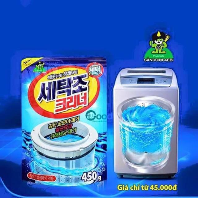 Bột tẩy vệ sinh máy giặt Sandokkaebi Hàn Quốc - 2649619 , 141760581 , 322_141760581 , 40000 , Bot-tay-ve-sinh-may-giat-Sandokkaebi-Han-Quoc-322_141760581 , shopee.vn , Bột tẩy vệ sinh máy giặt Sandokkaebi Hàn Quốc
