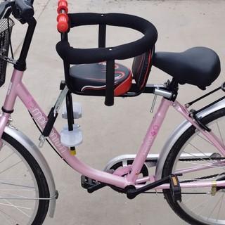 Xe đạp điện trẻ em ghế ngồi ắc quy ô tô gắn xe đạp phía trước ghế an toàn ghế nhỏ phía trước
