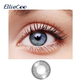 Bộ 2 cái cặp kính áp tròng EllieCoo màu xám dòng Sky thumbnail