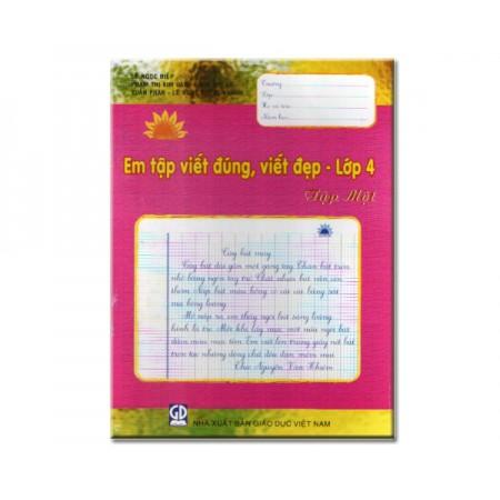 Em Tập Viết Đúng, Viết Đẹp Lớp 4 - Tập 1 - 10000756 , 754922865 , 322_754922865 , 11500 , Em-Tap-Viet-Dung-Viet-Dep-Lop-4-Tap-1-322_754922865 , shopee.vn , Em Tập Viết Đúng, Viết Đẹp Lớp 4 - Tập 1