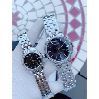 Đồng hồ cặp Tissot T097.007.11.053.00 và T065.930.11.051.00 - Máy Cơ automatic Thụy Sĩ - Kính Sapphire thumbnail