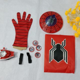 Combo bộ siêu nhân người nhện cho bé