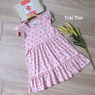 Váy Thun Cho Bé Màu hồng Đuôi Cá AD011-H