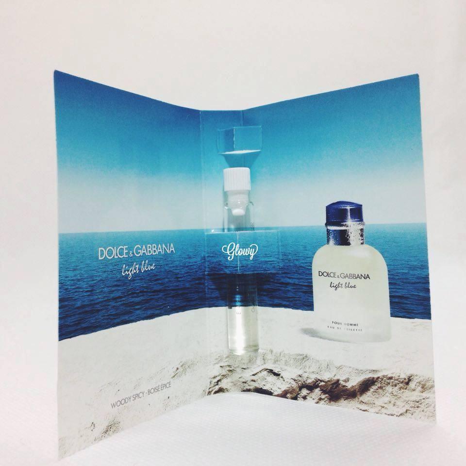 Vial nước hoa Dolce & Gabbana - Light Blue - Pour Homme