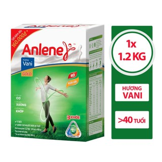 Sữa Bột Anlene Gold 1,2kg Hương Vani