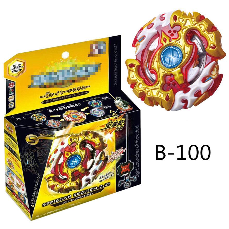 Beyblade B100 Spinning Top BURST With Box Metal Plastis Fusion 4D Toy for Kid