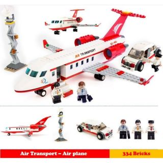 Gudi 8911 bộ xếp hình máy bay chở khách