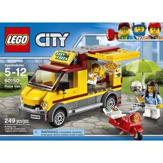 LEGO City 60150 – Xe Tải bán Pizza (LEGO City Pizza Van 60150)