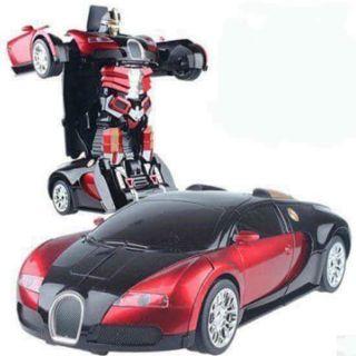 Đồ chơi siêu xe ô tô biến hình thành Robot