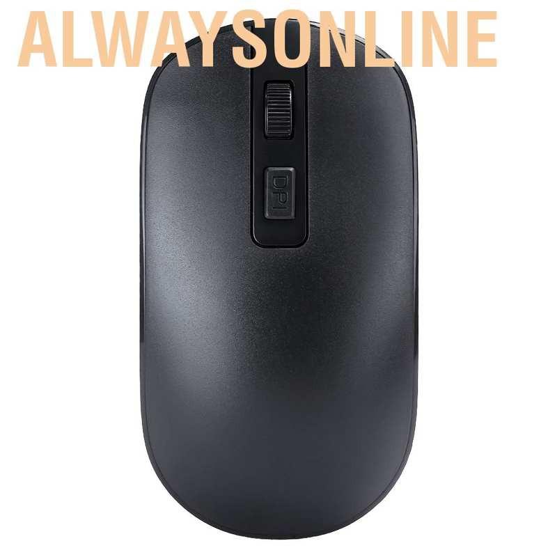 Bộ Bàn Phím Và Chuột Không Dây, Màu Đen Cho Laptop