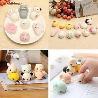 z10Pcs Random Squishy Lot Slow Rising Fidget Toy Kawaii Cute Animal Hand Toyt