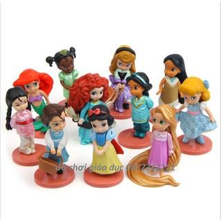 👉Set 11 búp bê công chúa Disney