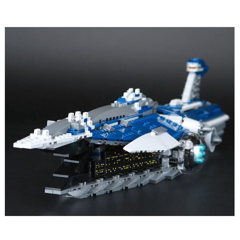 Compatible With 9515 Lepin 05072 Star Plans THE MALEVOLENCE Fighter Plan
