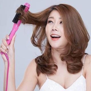 Lược điện FREESHIP Lược điện uốn tóc đa năng Nova NHC-8810 làm xoăn, uống phồng, sấy cúp tóc 2651 thumbnail