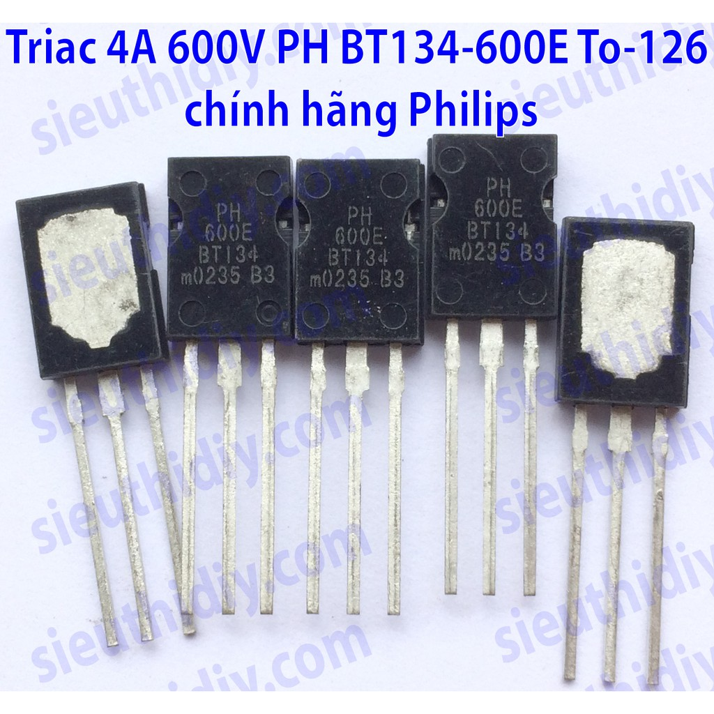 Triac 4A 600V PH BT134-600E To-126 chính hãng Philips - 3033931 , 825243624 , 322_825243624 , 30000 , Triac-4A-600V-PH-BT134-600E-To-126-chinh-hang-Philips-322_825243624 , shopee.vn , Triac 4A 600V PH BT134-600E To-126 chính hãng Philips
