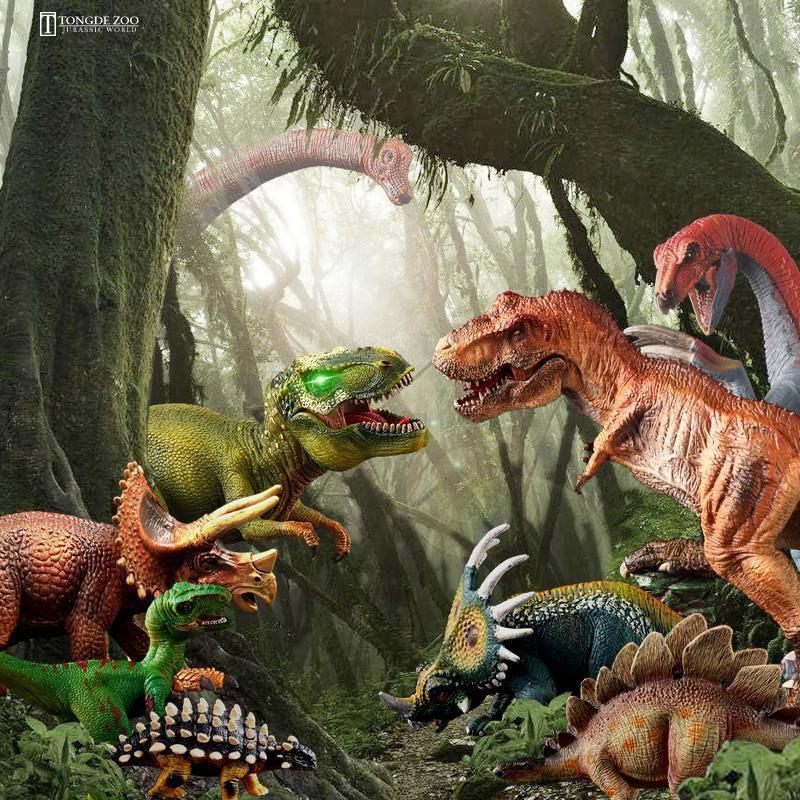 Đồ chơi mô hình khủng long bạo chúa 3d kỷ jura 30 cm