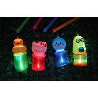 (Combo sỉ) – Hộp 12 đèn lồng lò xo cho trẻ em