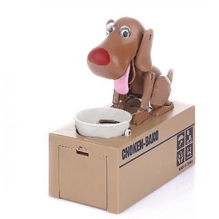 Đồ chơi chó ăn xu (Choken Bako Robotic Dog Bank)