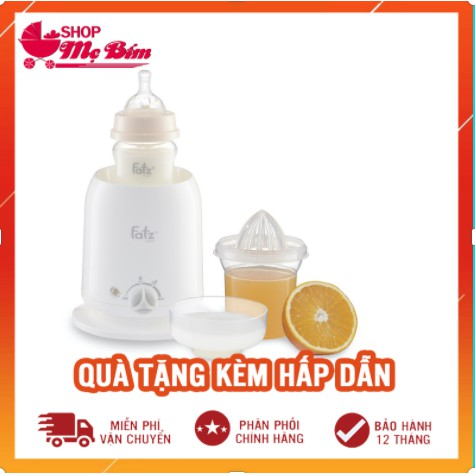 [Mã 267FMCGSALE giảm 8% đơn 500K] Máy hâm sữa,máy tiệt trùng bình sữa Fatz Baby