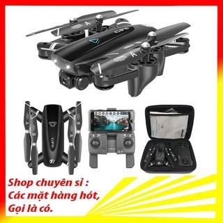 Flycam 4k S167 , Flycam camera 4k mini giá rẻ, Quay phim chụp ảnh siêu nét, định vị, cảm biến bay ổn định thumbnail