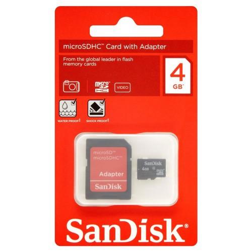 Thẻ nhớ micro Sandisk