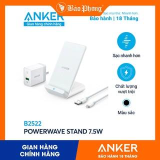 Bộ Sạc Nhanh Không Dây Anker B2522 PowerWave Stand 7.5w- BH 18 tháng thumbnail