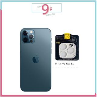 DÁN bảo vệ CAMERA trong suốt cho iPHONE 12 PROMAX ( 6.7 ) thumbnail