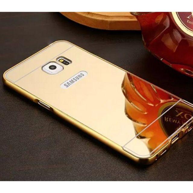 Ốp lưng Samsung Galaxy S7 tráng gương viền nhôm cao cấp - 2848546 , 564398366 , 322_564398366 , 45000 , Op-lung-Samsung-Galaxy-S7-trang-guong-vien-nhom-cao-cap-322_564398366 , shopee.vn , Ốp lưng Samsung Galaxy S7 tráng gương viền nhôm cao cấp