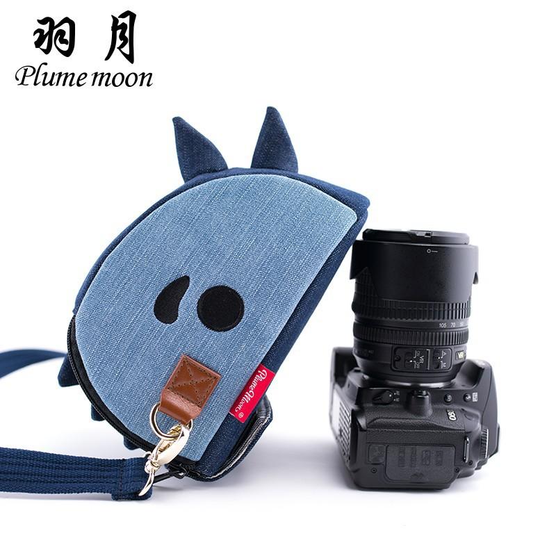 Dinosaur camera bag shoulder SLR package for Canon Nikon Sony A7200D750D760DD530
