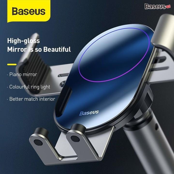 Giá đỡ điện thoại gắn taplo hoặc kính lái xe ô tô, xe hơi thương hiệu Baseus SUYL-JY01 - Bảo hành 6 tháng