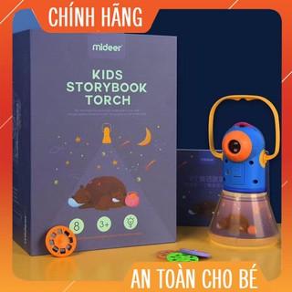 [HÀNG CHÍNH HÃNG] Đèn pin kể chuyện KIDS STORYBOOK TORCH kết hợp đèn ngủ Mideer