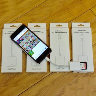 [Mã ELFLASH5 giảm 20K đơn 50K] Đầu đọc thẻ SD cho iPhone, iPad, samsung