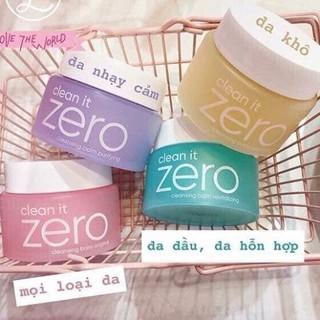 [Mẫu Mới] Sáp Tẩy Trang Làm Trắng Da Banila Clean It Zero 7g ,50g, 100g thumbnail