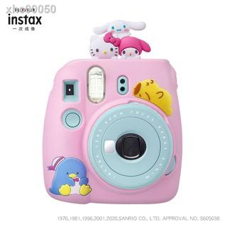 Túi Đựng Máy Ảnh Fujifilm Time Sanrio Mini9 Polaroid Bằng Silicon Ốp