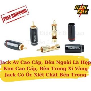 ( 2 Cái ) Jack Av, Jack Hoa Sen Gold Snake