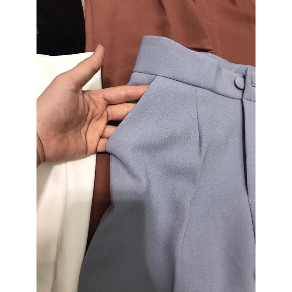 Bán sỉ quần baggy 1 cúc bảng 3 màu