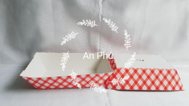 10 Khay giấy kraft đựng thức ăn