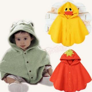 [AlmiraStore2211]Áo choàng hình thú siêu đáng yêu cho bé 0-3 tuổi