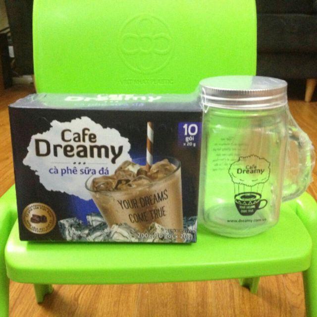 Cà phê Dreamy sữa đá cốc