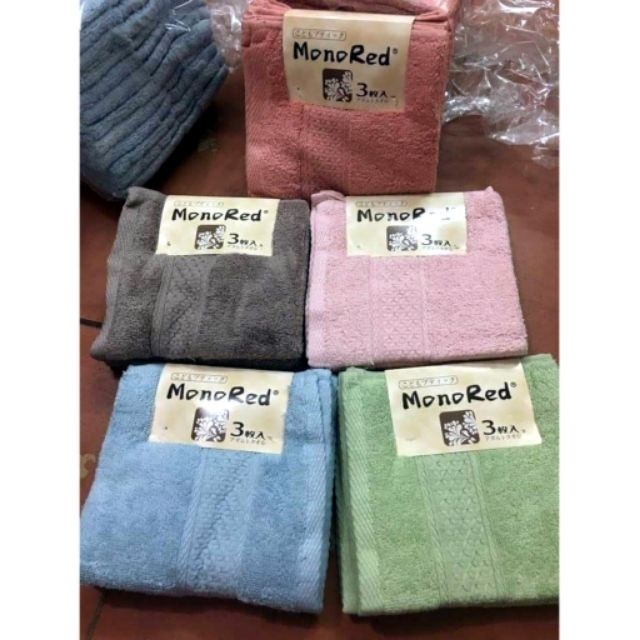 Set 3 khăn mặt Monored xuất Nhật cao cấp - 13683280 , 1619527966 , 322_1619527966 , 59000 , Set-3-khan-mat-Monored-xuat-Nhat-cao-cap-322_1619527966 , shopee.vn , Set 3 khăn mặt Monored xuất Nhật cao cấp