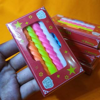 Nến Sinh Nhật 12 Màu Chất Lượng Cao
